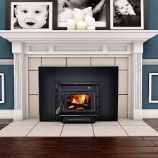 black wood fireplace inserts type of wood fireplace inserts