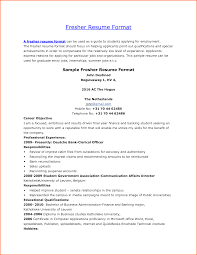 Summer Job Resume No Experience by Sample Resume For Teaching Profession For Freshers Resume For