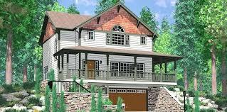 hillside house plans for sloping lots hillside house design 3 story sloping lot house plan hillside house