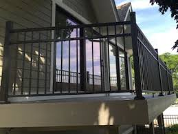 Handrails For Outdoor Steps Handrail Installation Wood Dale Deck Stair U0026 Porch Railings