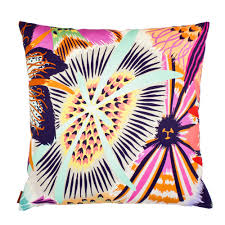 missoni home cushions neda cushion bright multi color