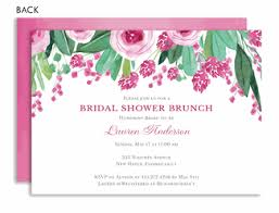 wedding shower brunch invitations personalized bridal shower invitations