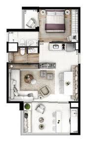 Single Bedroom Apartment Floor Plans 50 Square Meters Apartment Floor Plan Google Search 2 Bedrroom