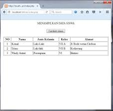 membuat form input menggunakan html it computer cara membuat form input untuk menambahkan data ke tabel