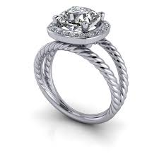 cushion cut split shank engagement rings halo engagement ring split shank ring cushion cut