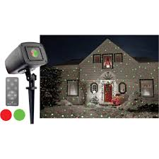 night stars pro series red green shimmer outdoor laser christmas