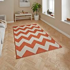 Cottage Rug Buy Cottage Ct5191 Terracotta Rug At Petit Tapis For Only 58 00