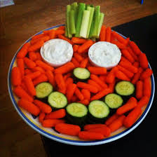 a healthy snack for the halloween party for the kiddos