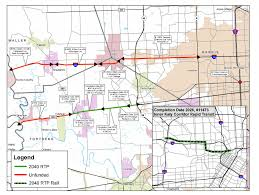 Pierce College Map Massive I 45 Project Would Remove Pierce Elevated Add Lanes
