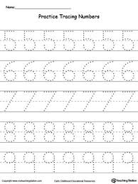 collections of printing numbers worksheets kindergarten wedding