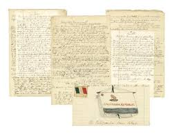 Bear Flag Revolt Pages Out Of A Ship U0026 39 S Log From June 1846 Describing