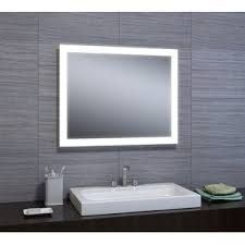 wall vanity mirror with lights mirrors with lights you ll love wayfair