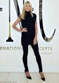inc clothing heidi klum is 30th anniversary ambassador for macy s inc brand