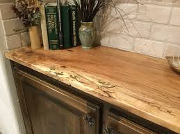 countertops spaltedpecancounter custom wood countertops bar top
