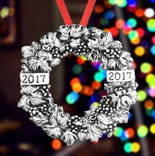 wreath ornament 2017 and hammer ornaments