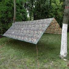 3 4m camo rain tarp shelter for canopy hammock outdoor camping