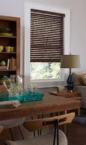 Designview Faux Wood Blinds Tristan Faux Wood Blind Dark Brown 22 X 46 Inch Window
