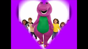 barney dinosaur lyrics