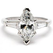 marquise diamond engagement ring marquise cut diamond engagement ring