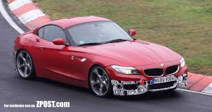 e89 z4 m sport package caught in testing