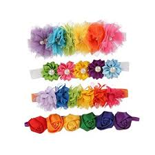 headband elastic baby girl s headbands elastic flowers headband for