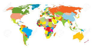 World Map No Labels by Map Clipart With Countries