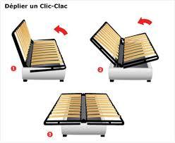 canapé convertible démontable canape convertible demontable pas cher meilleure vente clic clac