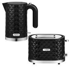Brushed Stainless Steel Kettle And Toaster Set Kettle And Toaster Set Ebay