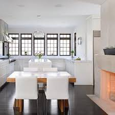dining table in front of fireplace kitchen with dining table design ideas