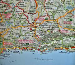 Detailed Map Of Spain by Map Of Granada Spain Imsa Kolese