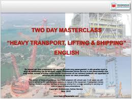 heavy lifting cranes shipping u0026 transport companies seminar slides