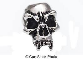 stock image of skull decorative artwork digital grunge