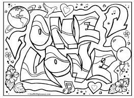 love coloring pages free coloring pages