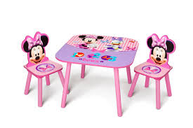 delta minnie mouse child u0027s table and chair set
