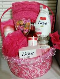 gift basket ideas for women the all things pink gift basket this could be given to women of