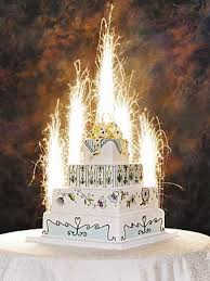 birthday cake sparklers cakes sparklers via sparktacular pretty to eat