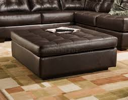 Modern Tufted Leather Sofa by Brown Tufted Top Grain Leather Modern Sectional Sofa