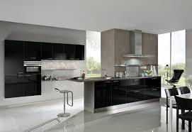 küchen küchenfronten in schwarz