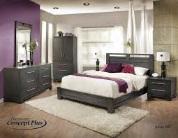 mobilier de chambre coucher la chambre à coucher moderne une plante verte dans peinture pour