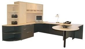 u shaped workstation desks u shaped computer desk with hutch home design executive u shaped