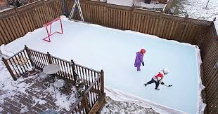 Backyard Rink Liner by How To Build A Backyard Hockey Rink Like A Pro Men U0027s Journal