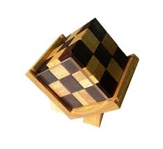 box wooden cube in box wooden puzzle solve it think out of the box