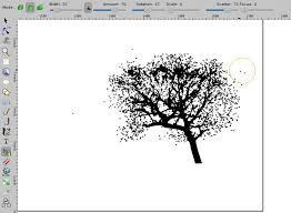 design a landscape tree in sunset tutorial