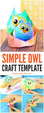 simple owl craft template easy peasy and fun
