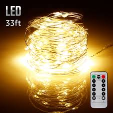 Patio Decorative Lights 33ft 100leds Starry String Lights Waterproof Usb Powered