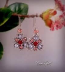Chandelier Beaded Earrings White Bead Victorian Earrings Antique Renessance Jewelry Romantique Vintage