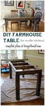 Diy Farmhouse Table And Bench Diy Farmhouse Table Tutorial