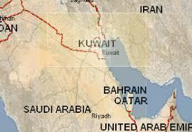 kuwait on a map kuwait topographic maps mapstor com