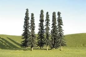 4 6 conifer bulk trees 24 per bag 32156 43 00 bachmann