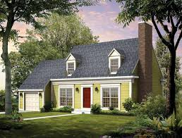 Cape Cod House Plans At Eplanscom Colonial Style Homes - Cape cod home designs